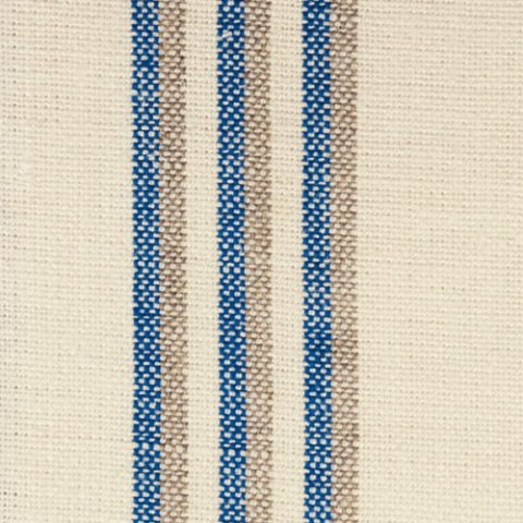 Grain Stripe Indigo (Natural) £39.50/m